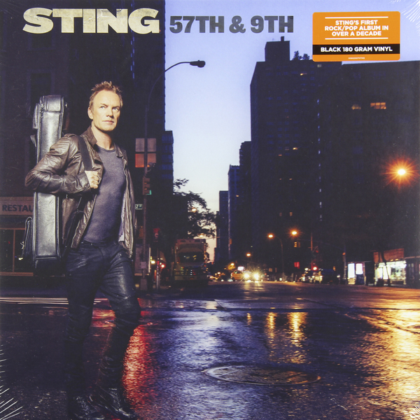 STING STING - 57th 9th (180 Gr) sting sting ten summoner s tales 180 gr