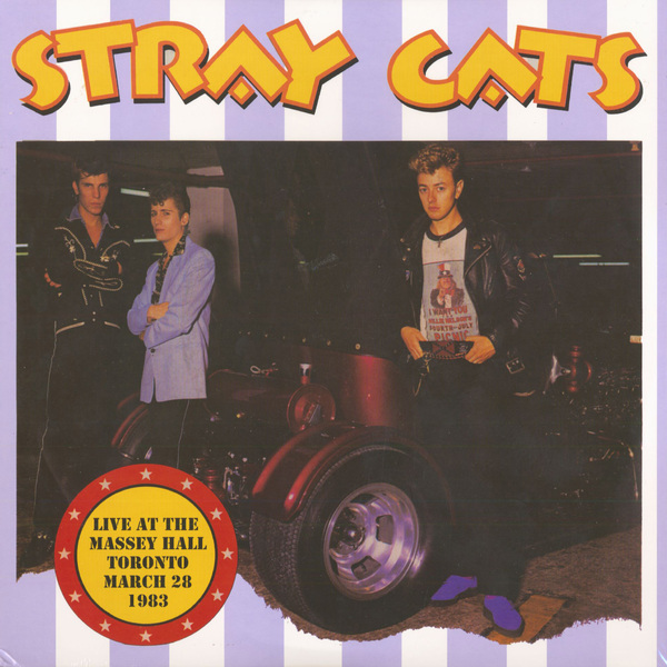 Stray Cats Stray Cats - Live At The Massey Hall Totonto, 1983 (2 LP) guitar day the jumping cats