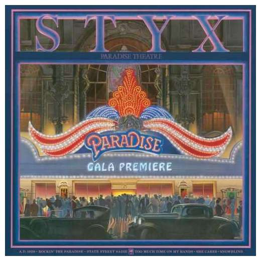 STYX STYX - Paradise Theatre styx styx paradise theater