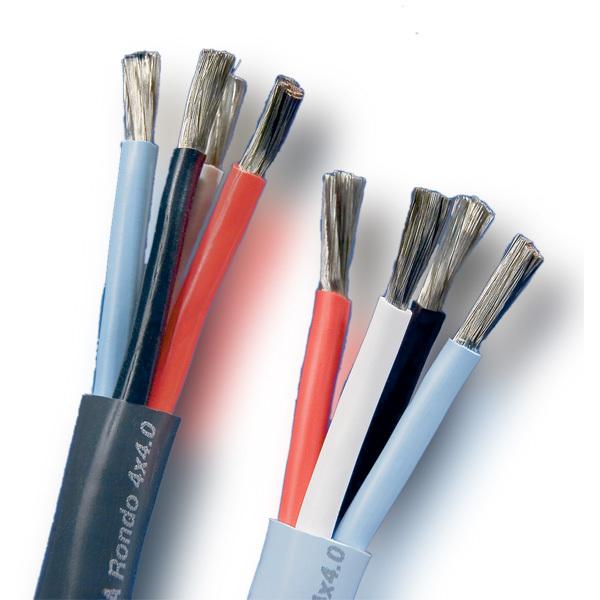 Кабель акустический в нарезку Supra Rondo Bi-Wire 4 x 4 mm катушка индуктивности jantzen air core wire coil 1 40 mm 1 80 mh 0 42 ohm 1484