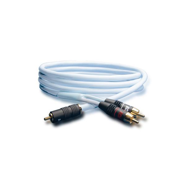 Кабель для сабвуфера Supra Y-Link RCA Light Blue 6 m набор проводов для активного сабвуфера kicx sak10atc