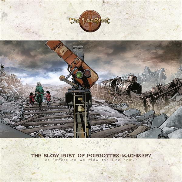 Tangent Tangent - The Slow Rust Of Forgotten Machinery (2 Lp+cd)