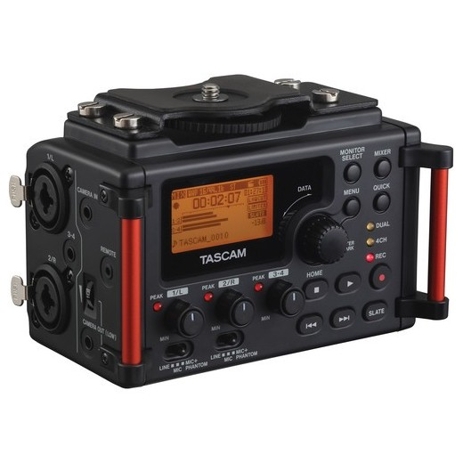 Портативный рекордер TASCAM DR-60DMKII портативный рекордер zoom ветрозащита для микрофона wsu 1
