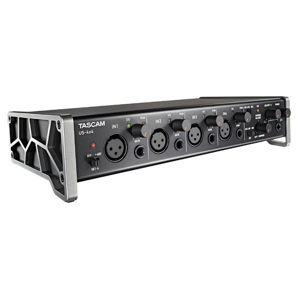 Внешняя студийная звуковая карта TASCAM US-4x4 звуковая карта tascam us 125m