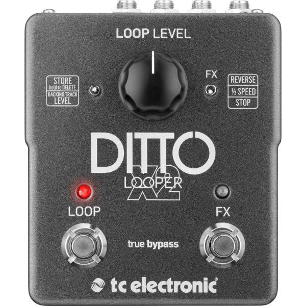 Педаль эффектов TC Electronic Ditto X2 Looper педаль эффектов fender engager boost pedal