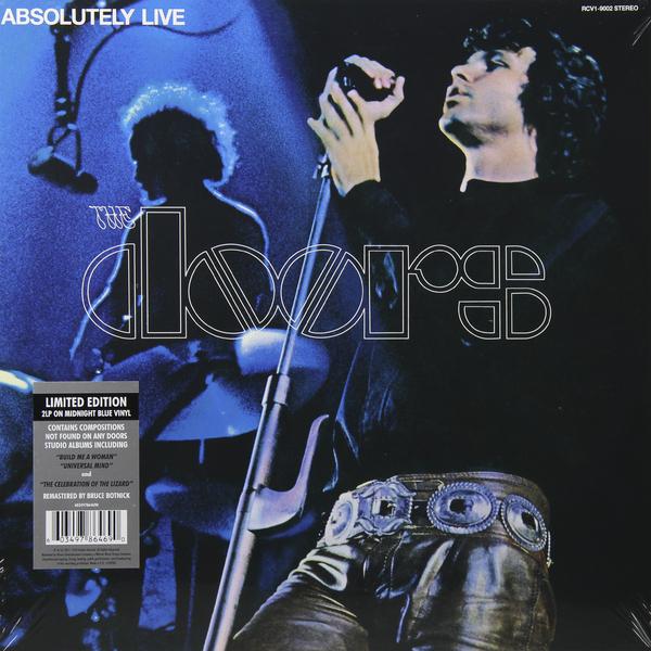 лучшая цена The Doors The Doors - Absolutely Live (2 Lp, Colour)