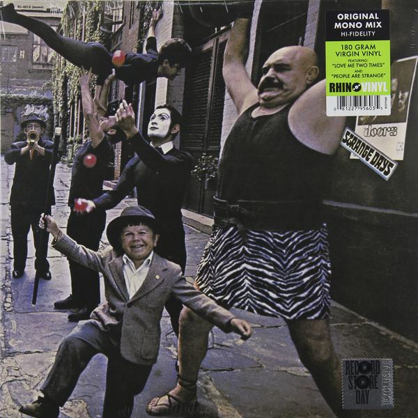 The Doors The Doors - Strange Days (mono) цена и фото