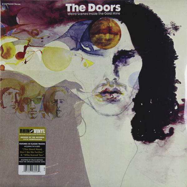 лучшая цена The Doors The Doors - Weird Scenes Inside The Goldmine (2 LP)