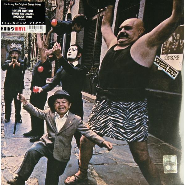 цена на The Doors The Doors - Strange Days (180 Gr) Rhino Records