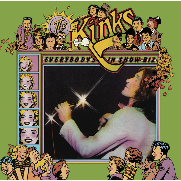 The Kinks The Kinks - Everybody's In Showbiz (3 LP) the kinks the kinks arthur or the decline and fall of the british empire lp
