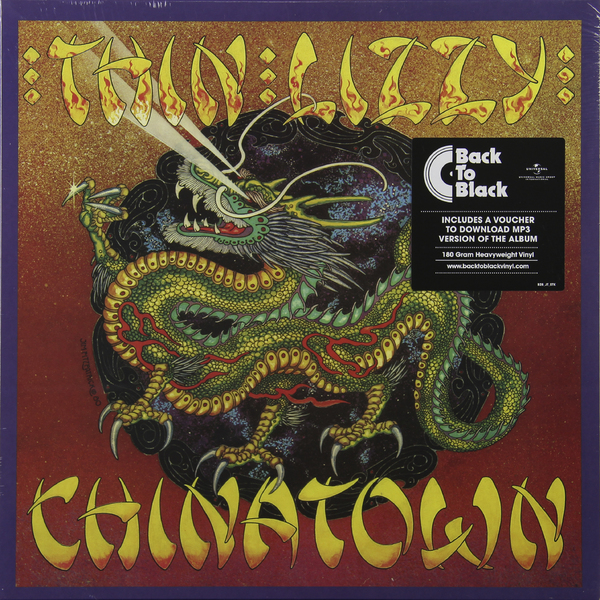 Thin Lizzy Thin Lizzy - Chinatown (180 Gr) цена