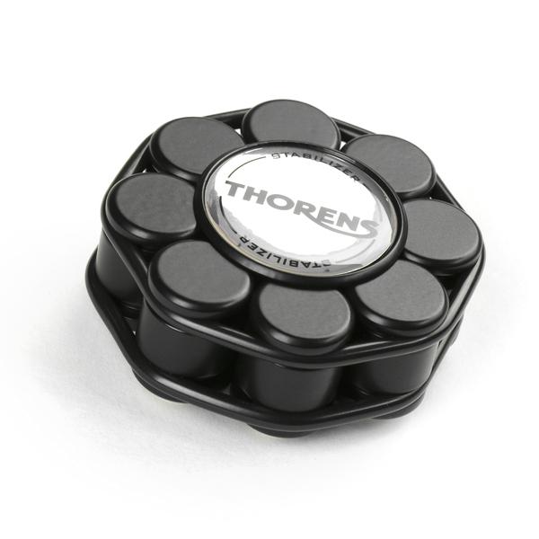 Прижим для виниловых пластинок Thorens Stabilizer Black подставка для виниловых пластинок merkle displaystick black oak