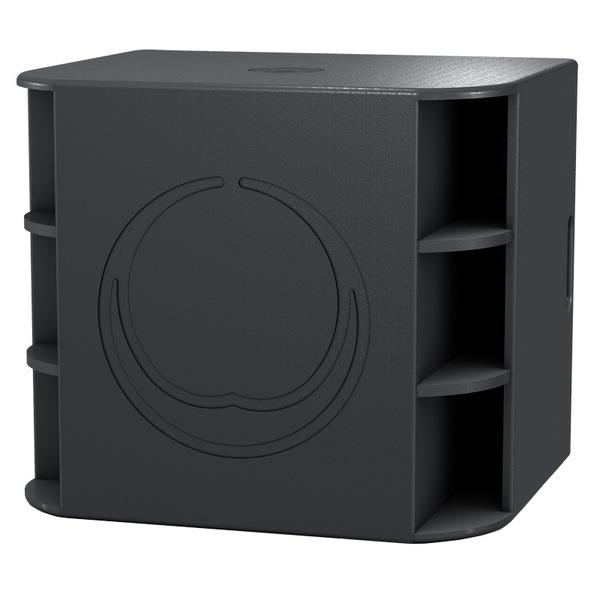 лучшая цена Профессиональный активный сабвуфер Turbosound Milan M18B Black