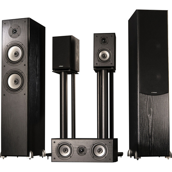 Комплект акустики 5.0 Ultimate CLASSIC 5 Black комплект акустических систем ultimate classic 5
