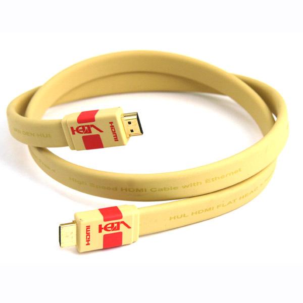 Кабель HDMI Van den Hul Flat HEAC 1 m комплект комбинезонов для мальчика фреш стайл цвет голубой салатовый 2 шт 21 527м размер 86 18 мес