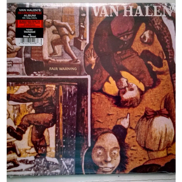 Van Halen Van Halen - Fair Warning цена и фото