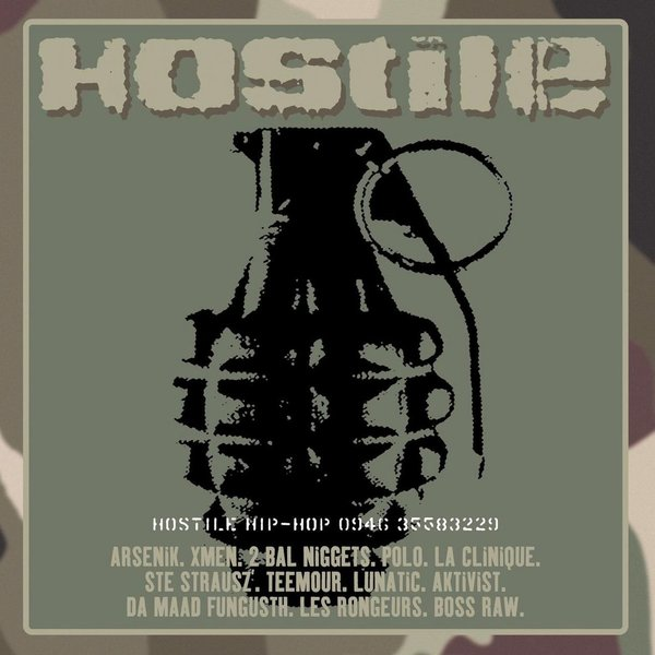 Various Artists Various Artists - Hostile Hip Hop (180 Gr) цена и фото