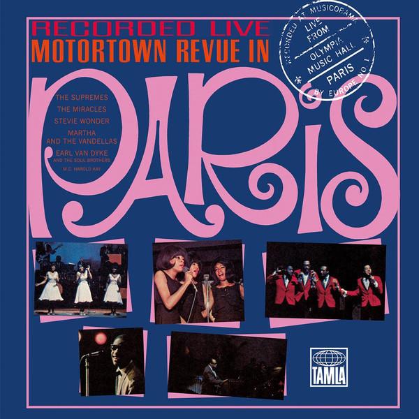 Various Artists Various Artists - Motortown Revue In Paris (3 LP) цена