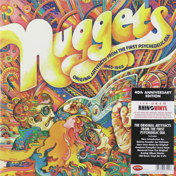 Various Artists Various Artists - Nuggets-original Artyfacts From The First Psychedelic Era 1965-1968 (2 Lp, 180 Gr) цена и фото