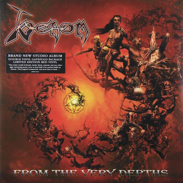 VENOM VENOM - From The Very Depths (2 LP) venom venom welcome to hell 2 lp 180 gr