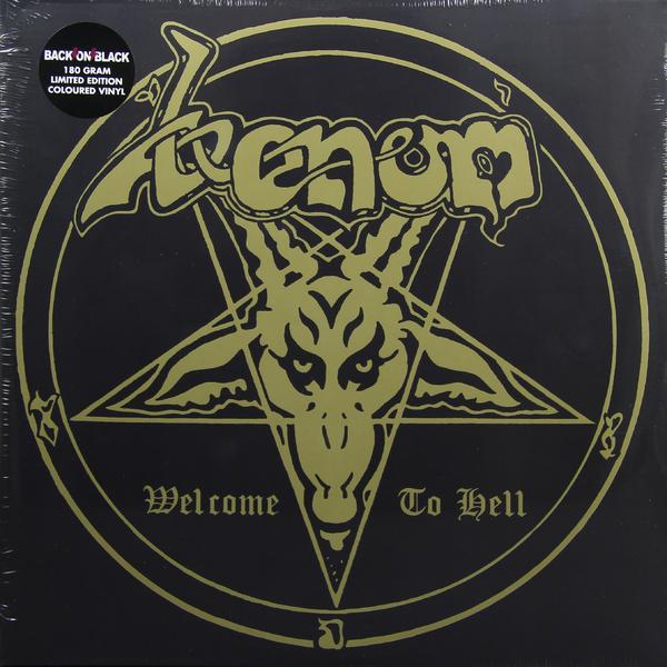 VENOM VENOM - Welcome To Hell (2 Lp, 180 Gr) venom venom welcome to hell 2 lp 180 gr