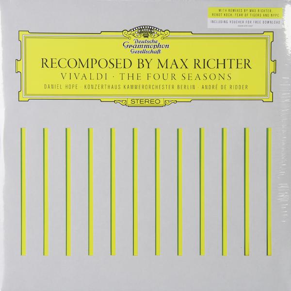 Vivaldi VivaldiMax Richter - : The Four Seasons Recomposed (2 LP) дженин дженсен janine jansen vivaldi the four seasons