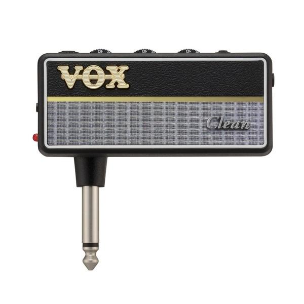 Гитарный мини-усилитель VOX Гитарный усилитель для наушников amPlug 2 Clean гитарный мини усилитель vox гитарный мини комбоусилитель ac2 rhythm