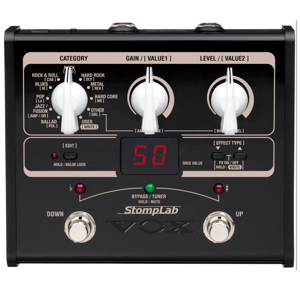 Гитарный процессор VOX Stomplab 1G недорго, оригинальная цена