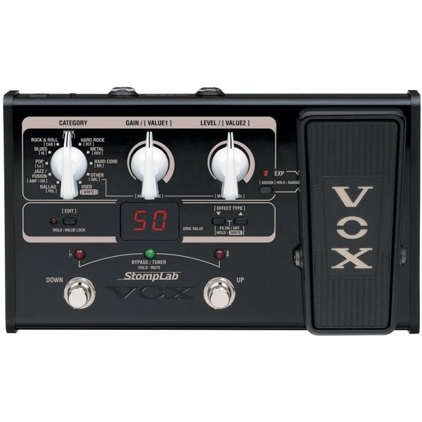 Гитарный процессор VOX Stomplab 2G недорго, оригинальная цена