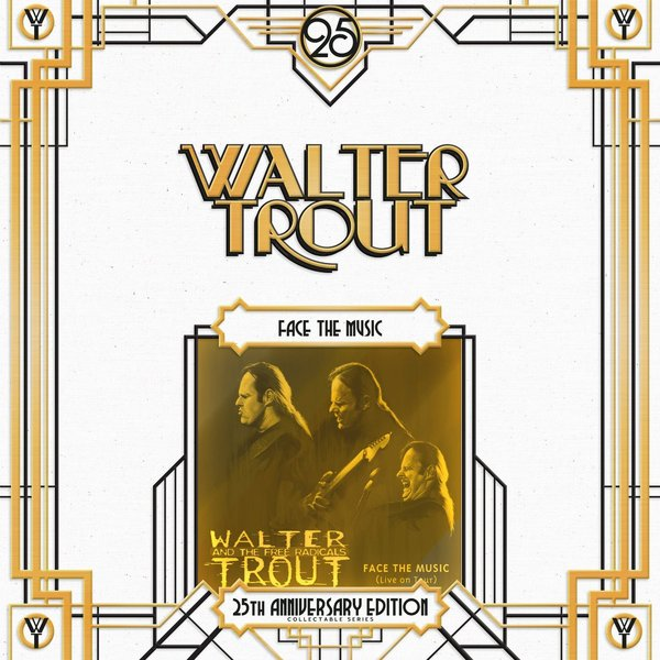 Walter Trout Walter Trout - Face The Music - 25th Anniversary (2 LP) walter trout walter trout face the music 25th anniversary 2 lp