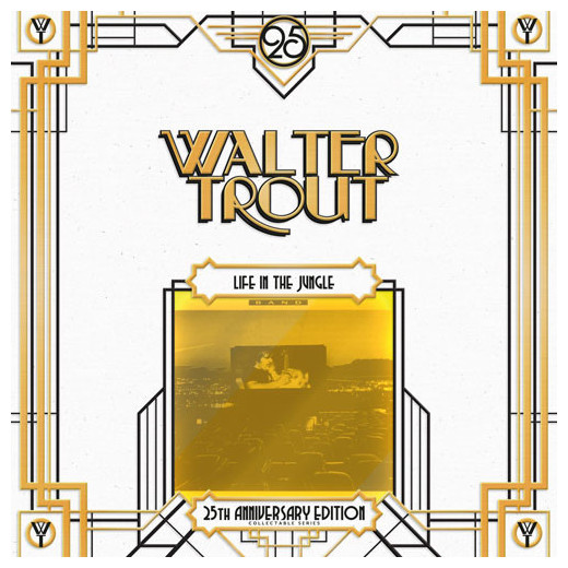 Walter Trout Walter Trout - Life In The Jungle - 25th Anniversary (2 LP) walter trout walter trout face the music 25th anniversary 2 lp
