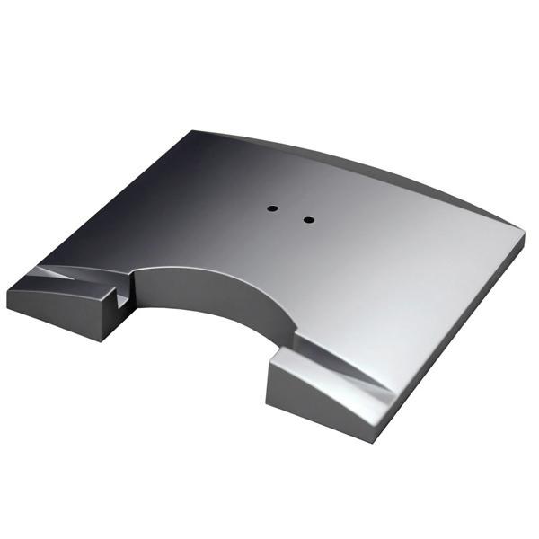 лучшая цена Стойка для акустики Waterfall Подставка под акустику Shelf Stands Hurricane Silver