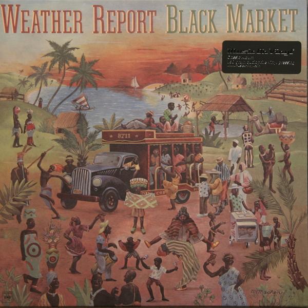 Weather Report Weather Report - Black Market (180 Gr) weather report weather report heavy weather 180 gr