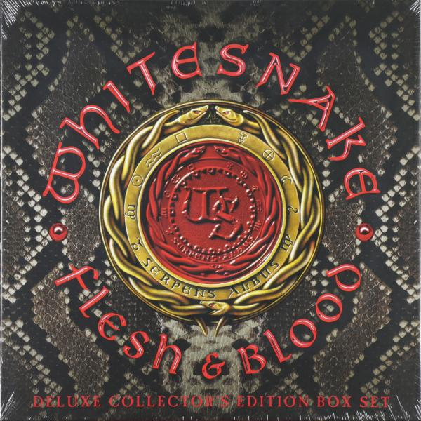 Whitesnake Whitesnake - Flesh And Blood (2 Lp+cd+dvd+poster, 180 Gr) цена в Москве и Питере