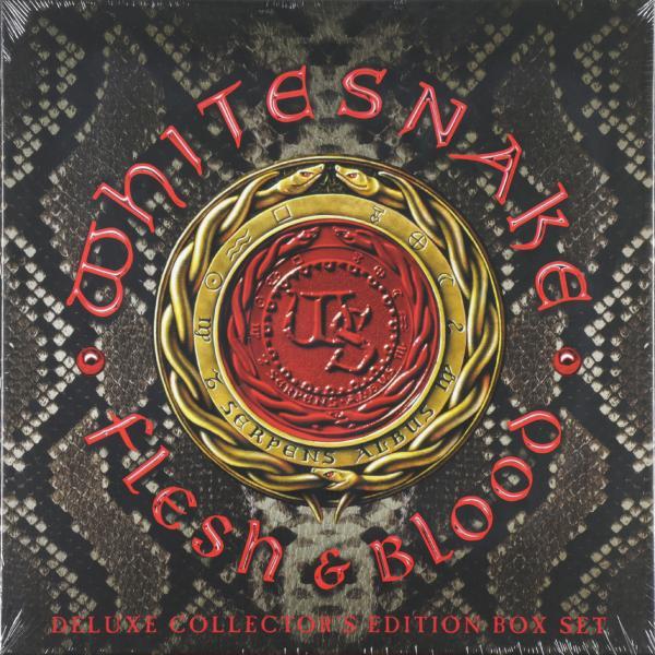 цена на Whitesnake Whitesnake - Flesh And Blood (2 Lp+cd+dvd+poster, 180 Gr)