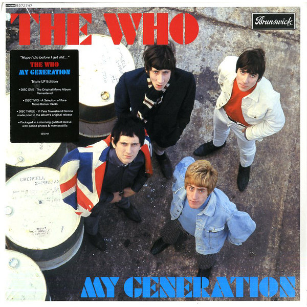 WHO WHO - My Generation (mono) (3 LP) who who live at hyde park 3 lp
