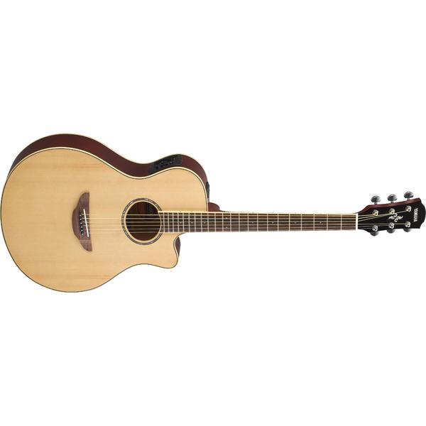 Гитара электроакустическая Yamaha APX600 Natural гитара электроакустическая yamaha fgx800c natural
