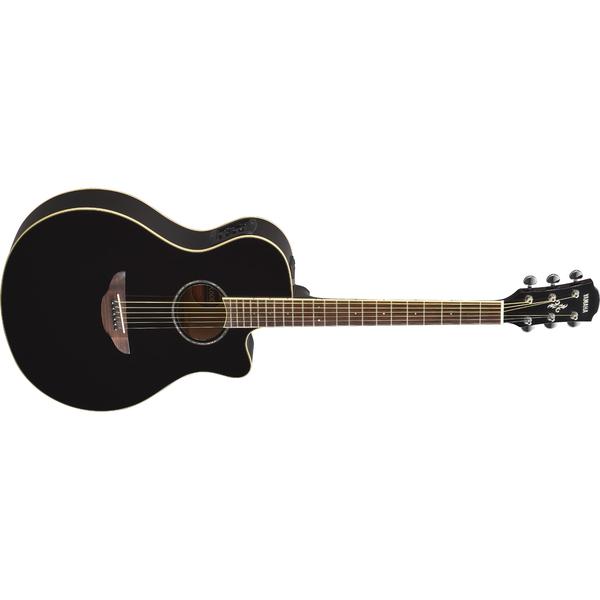 Гитара электроакустическая Yamaha APX600 Black гитара электроакустическая yamaha fgx800c natural