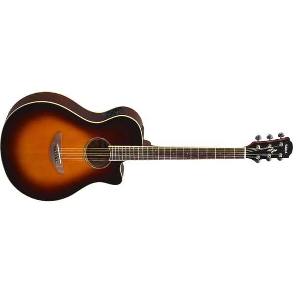 Гитара электроакустическая Yamaha APX600 Old Violin Sunburst гитара электроакустическая yamaha fgx800c natural