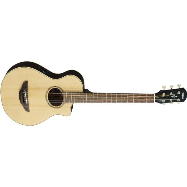 Гитара электроакустическая Yamaha APXT2 Natural Wood гитара электроакустическая yamaha fgx800c natural