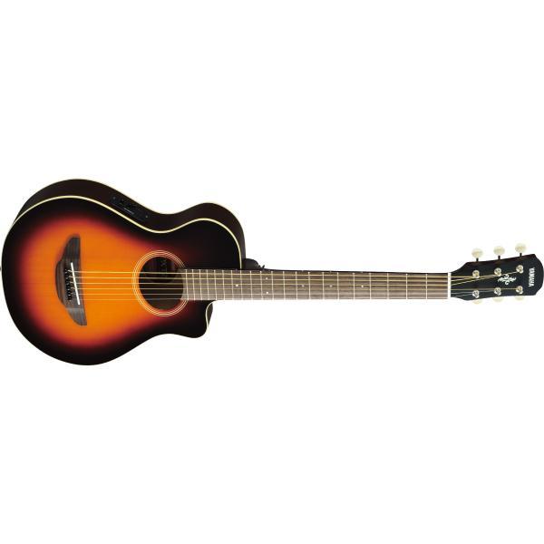 Гитара электроакустическая Yamaha APXT2 Old Violin Sunburst гитара электроакустическая yamaha fgx800c natural