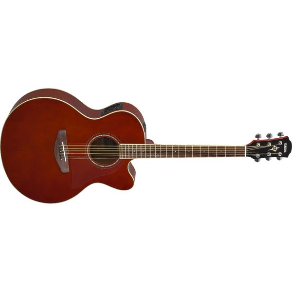 Гитара электроакустическая Yamaha CPX600 Root Beer гитара электроакустическая yamaha fgx800c natural