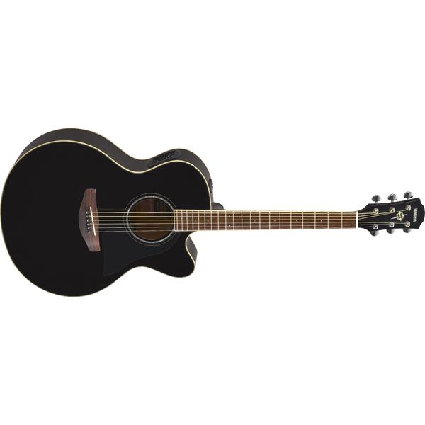 Гитара электроакустическая Yamaha CPX600 Black гитара электроакустическая yamaha fgx800c natural