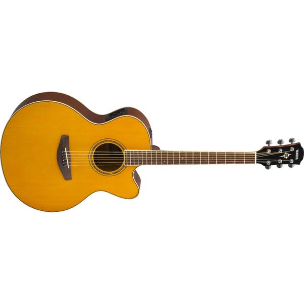 Гитара электроакустическая Yamaha CPX600 Vintage Tint гитара электроакустическая yamaha fgx800c natural
