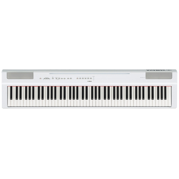 Цифровое пианино Yamaha P-125WH цена и фото