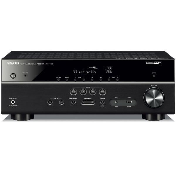 цена на AV ресивер Yamaha RX-V485 Black