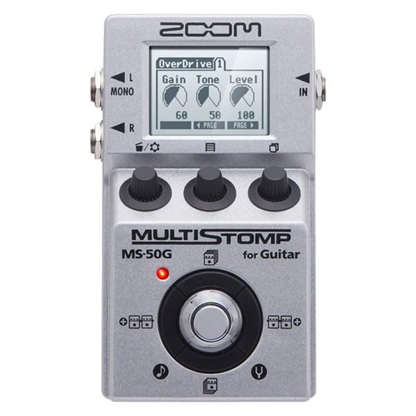 Педаль эффектов Zoom MS-50G педаль эффектов fender engager boost pedal