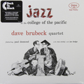 Виниловая пластинка DAVE BRUBECK - JAZZ AT THE COLLEGE OF THE PACIFIC (180 GR)