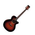 Гитара электроакустическая Dean PE UQA TGE