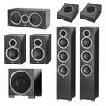 Комплект акустики 5.1 ELAC Debut F5 + B5 + A4 + C5 + S10EQ